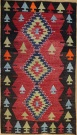 R8710 Vintage Turkish Kilim Rug