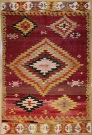 R8740 Vintage Turkish Kilim Rug