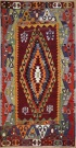 R8195 Vintage Turkish Kilim Rugs