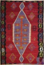 R8198 Vintage Turkish Kilim Rugs