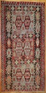R7857 Vintage Turkish Kilim Rugs London