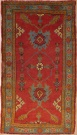 R5362 Vintage Ushak Turkish Rug