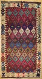 R6924 Antique Turkish Kilim