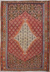 R2955 Persian Senneh Kilim