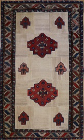R2996 Shirvan Carpet Patchwork