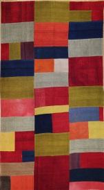 R3130 Vintage Turkish Kilim Patchwork